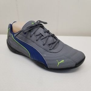 Puma 6.5 Sneakers Running Shoes Gray Blue Lime